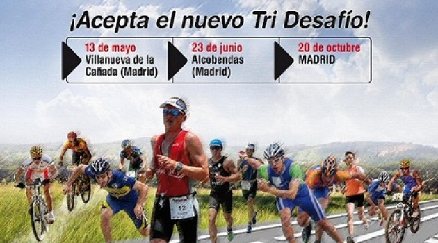 Llegan las TRI CHALLENGE Series Skate-Bike-Run