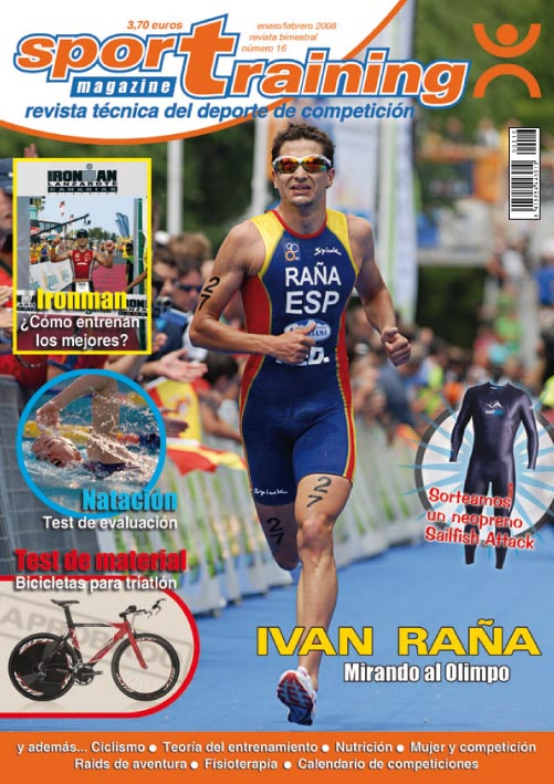 Revista Sport Training nº 16 (año 2008)