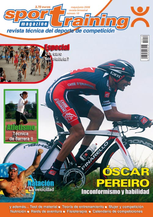 Revista Sport Training nº 18 (año 2008)