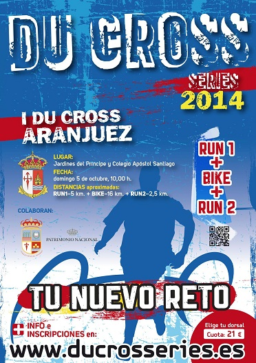 Cartel I Du Cross Aranjuez