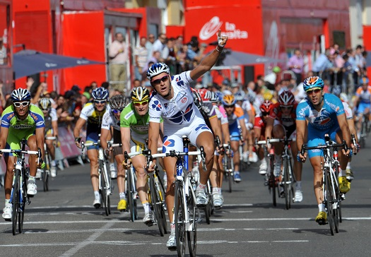 ANTHONY ROUX WINS STAGE SEVENTEEN OF THE 2009 TOUR OF SPAIN