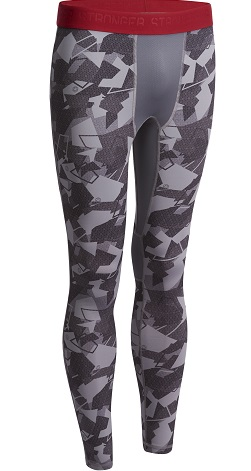 domyos-muscle-legging-grey-and-red
