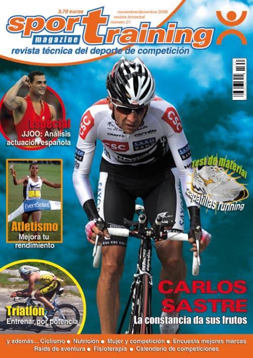Revista Sport Training nº 21 (año 2008)