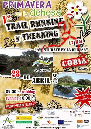 1º TRAIL RUNNING-TREKKING Coria 2013