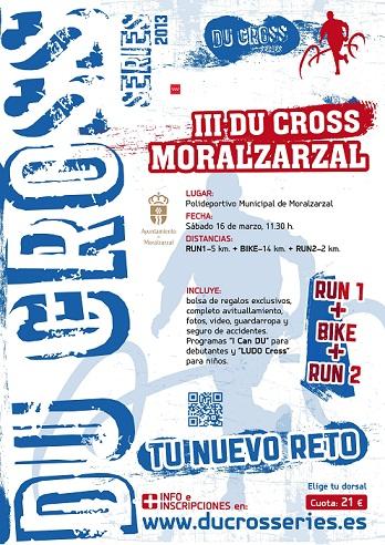 Cartel III Du Cross Moralzarzal