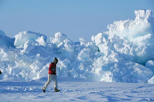 El choque de planchas de hielo proboca grandes escombreras_©MikeKing