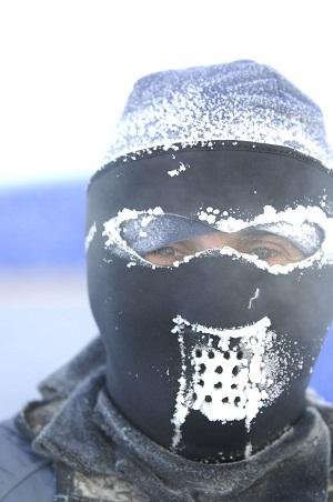 El sudor es lo primero que se congela_©MikeKing