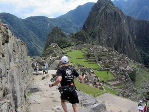Fernando González venciendo en Inca Trail Marathon