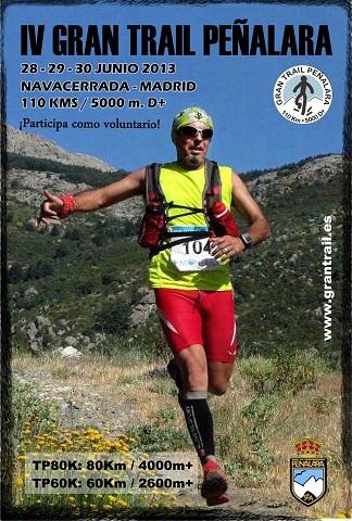 Cartel Gran trail Peñalara 2013