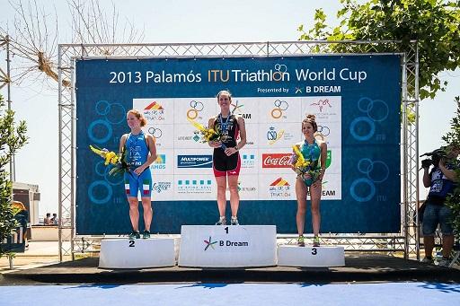 podio femenino