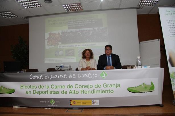 Dra. Nieves Palacios y José Luis Terreros