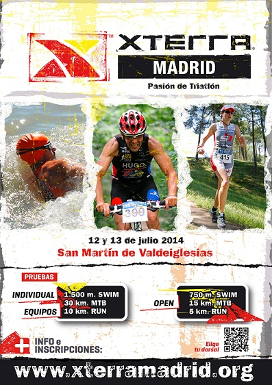 Cartel XTERRA Madrid 2014