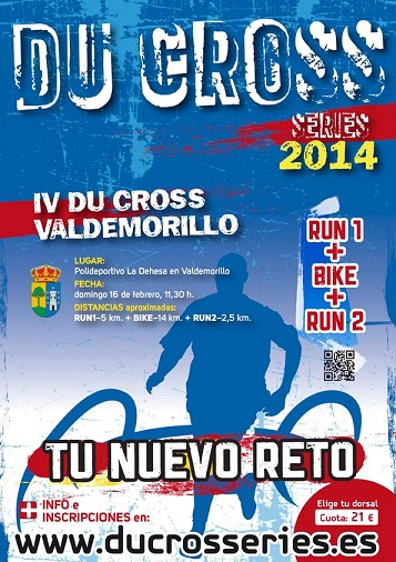 Cartel IV Du Cross Valdemorillo