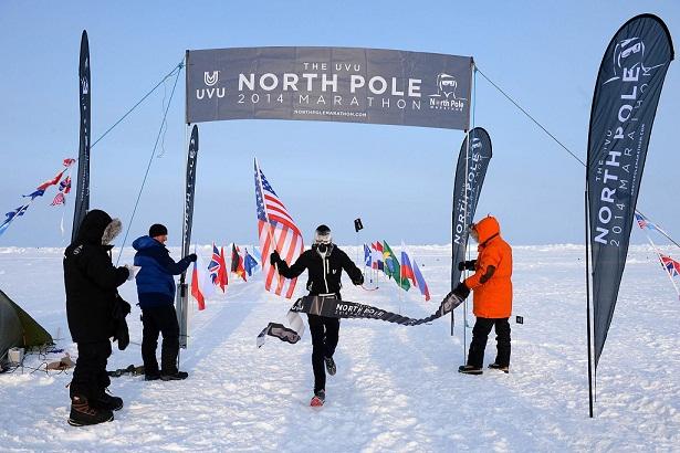 Mike Wardian, vencedor del North Pole Marathon 2014_©Mike King