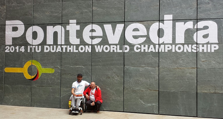Rafael Botello (Campeón del mundo de duatlón TR1)