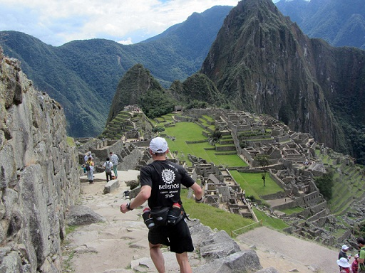 Venciendo en el Inca Trail Marathon