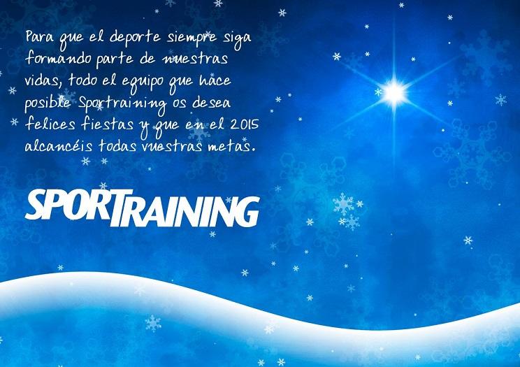 sportraining tarjeta navidad 2014
