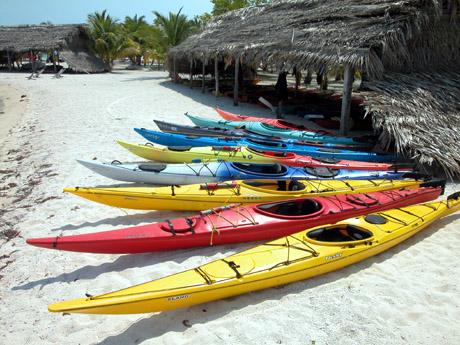 Kayaks de travesía