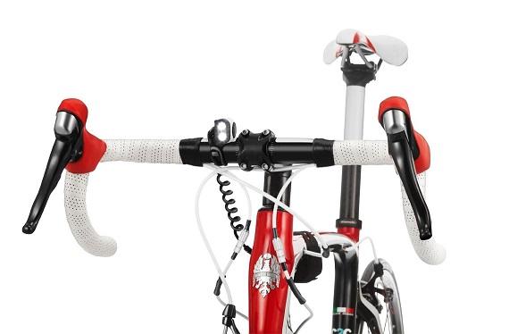 Frontal Trail Speed Plus instalada en biciclea