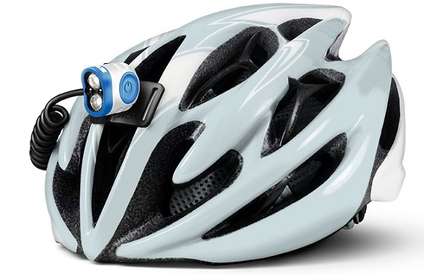Frontal Trail Speed Plus instalada en casco