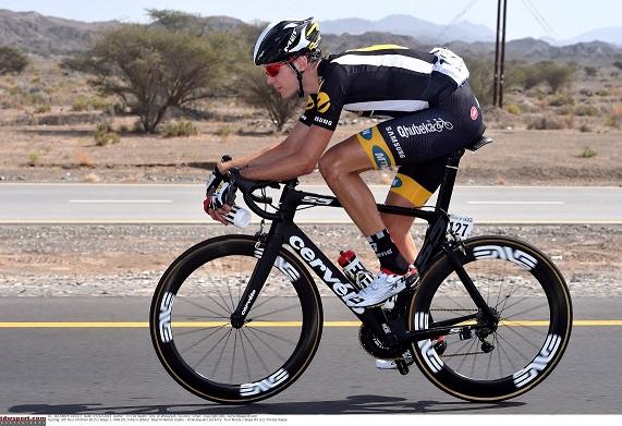 Cycling: 6th Tour of Oman 2015 / Stage 1 VAN ZYL Johann (RSA)/ Bayt Al Naman Castle - Al Wutayyah (161Km)/ Tour Ronde / Etape Rit /(c) Tim De Waele