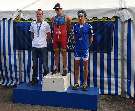 Rubén Ruzafa, Campeón del Mundo de Triatlón Cross.