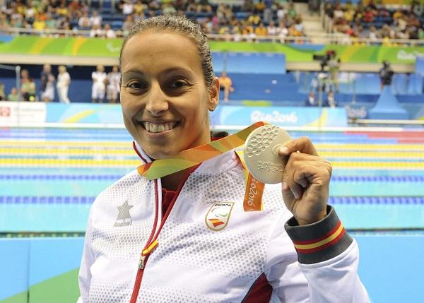 Teresa Perales, medalla de plata en 200estilos SM5, JJPP Rio 2016