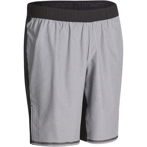 domyos-muscle-xtreme-short-grey